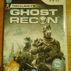 JOC WII TOM CLANCY's GHOST RECON ORIGINAL PAL / by DARK WADDER - Jocuri WII Ubisoft, Shooting, 16+, Multiplayer