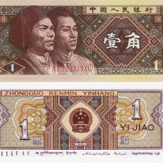 CHINA 1 jiao 1980 UNC!!! - bancnota asia