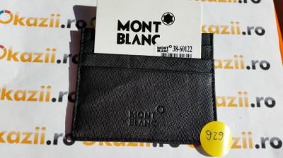 Port carduri de credit MontBlanc cod 929 foto