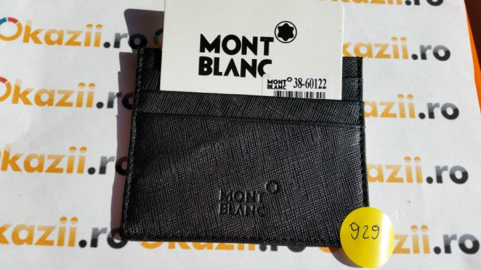 Port carduri de credit MontBlanc cod 929