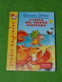 Carte pentru copii in limba italiana, Lísola del tesoro fantasma, 113 pagini