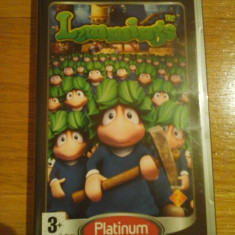 JOC PSP LEMMINGS PLATINUM ORIGINAL / by WADDER - Jocuri PSP Sony, Actiune, 3+, Single player