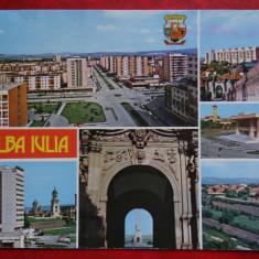Vedere/Carte postala - Alba Iulia - Carte Postala Banat dupa 1918, Necirculata