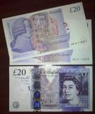 SV * UK  Marea Britanie  20  POUNDS / LIRE  2014     AUNC+