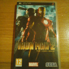 JOC PSP IRON MAN 2 THE VIDEO GAME ORIGINAL / by WADDER - Jocuri PSP Sega, Actiune, 12+, Single player