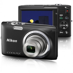 Camera foto NOUA, Nikon S2700, 16MP, HD video cu sunet, card 4GB, husa, cablu, garantie - Aparat Foto compact Nikon, Compact, 16 Mpx, 6x, 2.7 inch