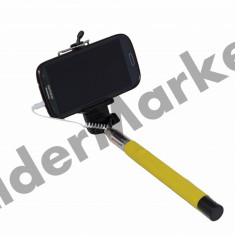 Selfie Stick – Telescopic cu Fir pentru fotografii de tip selfie