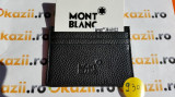 Port carduri de credit MontBlanc cod 930, Negru, Port card