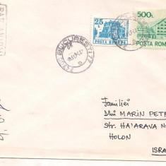 % plic-scrisoare-Par avion, An: 1989