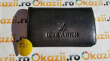 Cutie carduri de vizita Business Card Case LOUIS VUITTON cod 921, Negru, Port card, Louis Vuitton