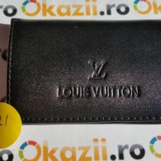 Cutie carduri de vizita Business Card Case LOUIS VUITTON cod 921 - Portofel Barbati Louis Vuitton, Negru, Port card