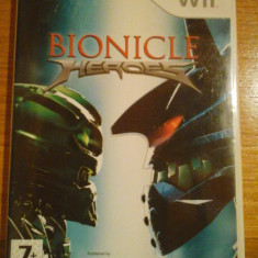 JOC WII BIONICLE HEROES by LEGO ORIGINAL PAL / by DARK WADDER - Jocuri WII Eidos, Actiune, 12+, Single player