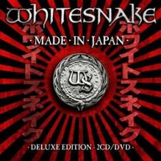 WHITESNAKE MADE IN JAPAN (2CD+DVD) - Muzica Rock