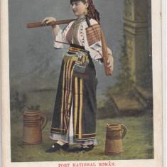 PORT NATIONAL ROMAN CLASICA NECIRCULATA - Carte postala tematica, Printata