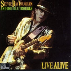 Stevie Ray Vaughan Double Trouble Live Alive (cd)