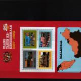 1982 makaezia bloc 1 conditie perfecta - Timbre straine