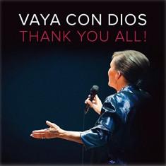 VAYA CON DIOS Thank You All (cd+dvd) - Muzica Latino