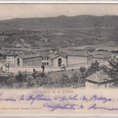 CAMPINA, PENITENCIARUL DE LA DOFTANA, CIRCULATA JUN. ''05 - Carte Postala Muntenia pana la 1904, Printata