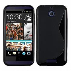 Husa HTC DESIRE 510 TPU S-LINE Black - Husa Telefon HTC, Negru, Gel TPU, Fara snur, Carcasa