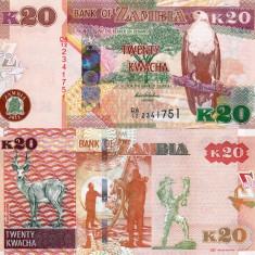 ZAMBIA 20 kwacha 2012 UNC!!!