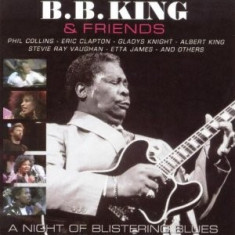 B.B. KING A Night Of Blistering Blues (dvd+cd) - Muzica Blues
