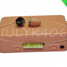 CUTIUTA GSM si Casca de COPIAT Japoneza Micro MC800 cutie Casti examen BAC 2018