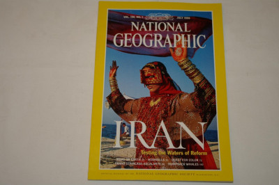 National Geographic - july 1999 - Iran - Testing the Waters of Reform foto