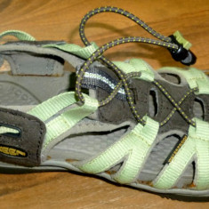 Sandale KEEN cred 38/39 talpic 24, 5 cm trekking munte cred dama transport inclus - Incaltaminte outdoor, Femei