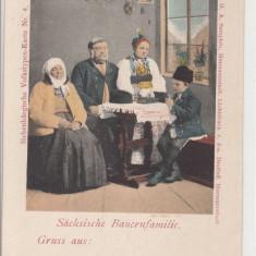 FAMILIE DE TARANI DIN TRANSILVANIA, PORT DIN TRANSILVANIA - Carte postala tematica, Necirculata, Printata