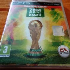 Joc Fifa 14 World Cup Brazil, PS3, original si sigilat, alte sute de jocuri! - Jocuri PS3 Ea Sports, Sporturi, 3+, Multiplayer