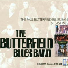 BUTTERFIELD BLUES BAND THE BUTTERFIELD BLUES BAND+EAST WEAST (CD) - Muzica Blues