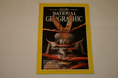 National Geographic - march 1998 - Planet of the beetles foto