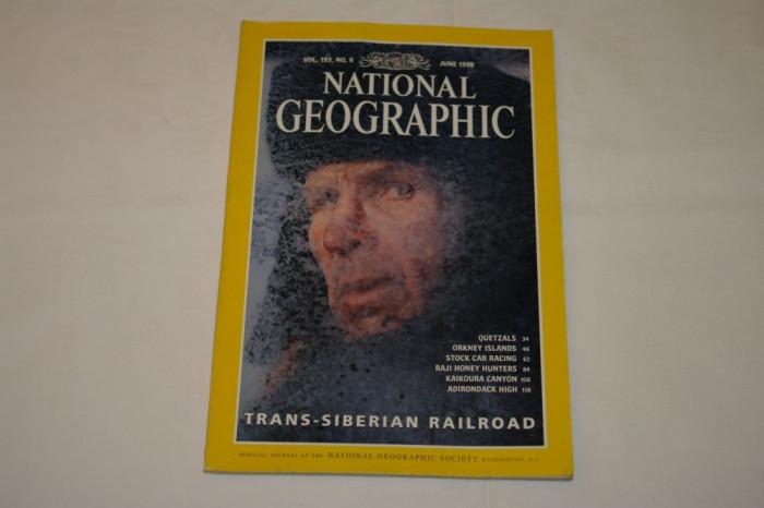 National Geographic - june 1998 - Trans-Siberian railroad