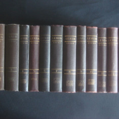 VLADIMIR ILICI LENIN - OPERE COMPLETE 38 volume {1950-1959} - Carte Politica