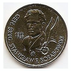 Polonia 2 Zloti 2004 - (Gen. Stanislaw Sosabowski) KM-499, Europa