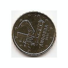 Andorra 10 Euro Cent 2014 KM-New UNC !!!, Europa