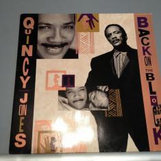 QUINCY JONES - BACK ON THE BLOCK(1989 / WARNER REC/ RFG ) - VINIL/VINYL/JAZZ - Muzica Rock