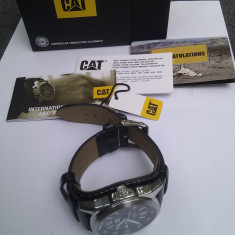 Ceas CAT (Caterrpilar) REF: PF 141, CAT Diesel Power, Water Resistant - Ceas barbatesc Diesel, Mecanic-Manual