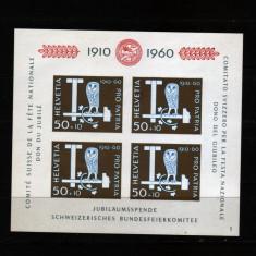 1960 elvetia bloc 17 conditie perfecta - Timbre straine