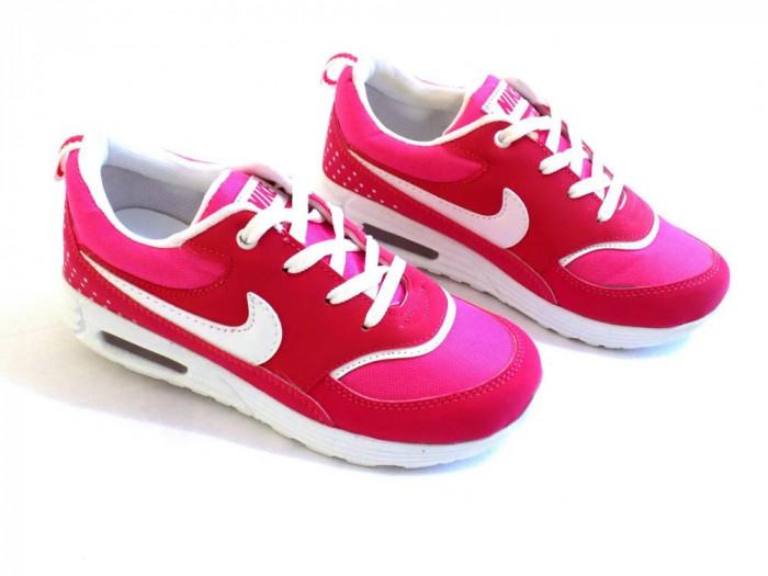 84093540a6 ... sweden adidasi nike air max thea copii colectia 2015 fete roz numere 32  33 foto mare ...