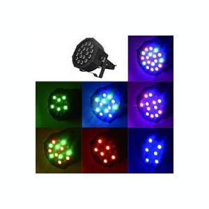 MEGA SET 10 PARI CU LEDURI SMD 18LEDx3WATT,COLOR RGB PT.EVENIMENTE,DISCO. NOU.