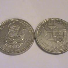 Mokazie! 100 Escudos Portugalia 1989 Madeira, Europa