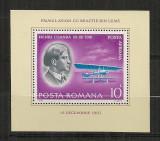 Romania.1978 Pionieri ai aviatiei-colita    CR.543, Nestampilat