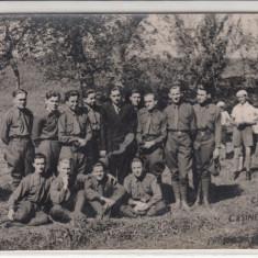 ARAD, CHISINAU-CRIS, CLASA VIa 1938, PROFESOR V. TARCOVNICU - Carte Postala Crisana dupa 1918, Necirculata, Fotografie