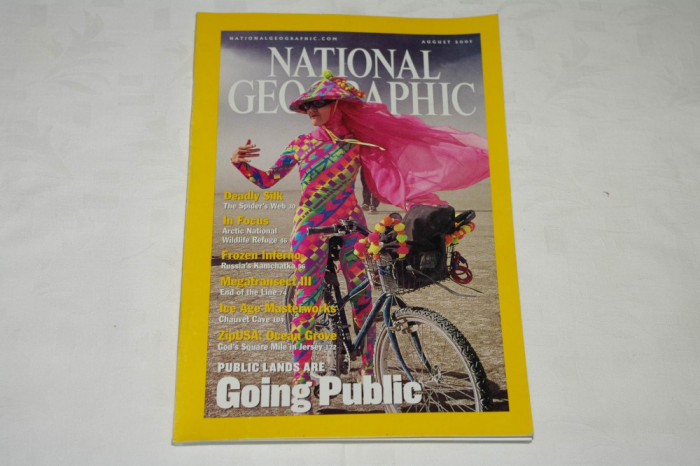 National Geographic - august 2001 - Public lands are Going Public