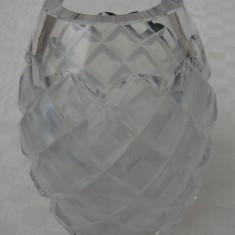 Superba vaza din cristal - perioada anilor 1960 - Vaza sticla