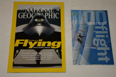 National Geographic - december 2003 - The future of flying foto
