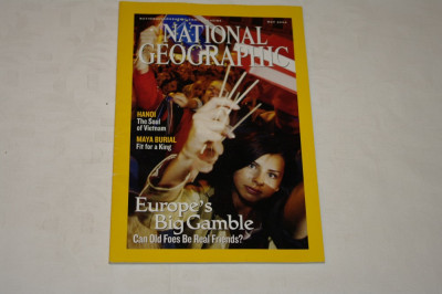 National Geographic - may 2004 - Europe's Big Gamble foto