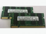 Kit 2Gb laptop ram memorie DDR2  2x 1Gb 5300s 555