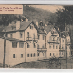 COVASNA, SANATORIUL TORIA, GARA BICSAD, JUD. TREI SCAUNE(ACTUAL COVASNA) - Carte Postala Transilvania dupa 1918, Necirculata, Printata